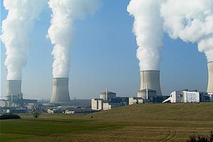 Атомная электростанция во Франции