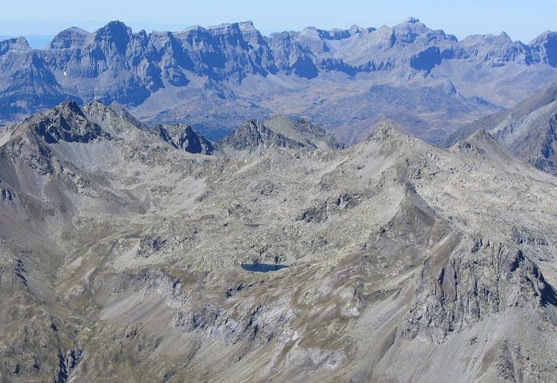 Граница Франции и �спании в Пиренеях