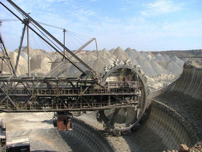 Разработка железнорудного месторождения во Франции