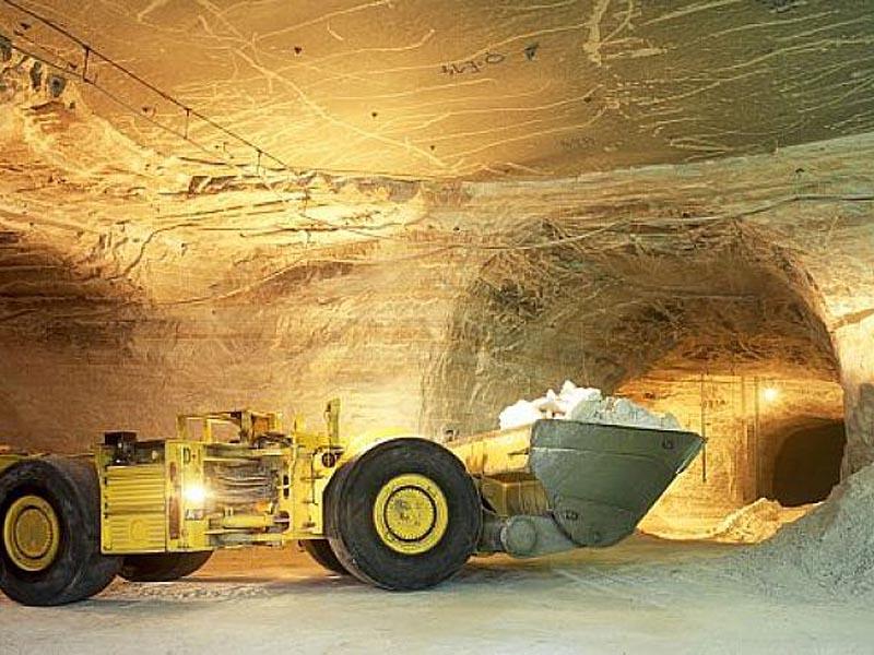 Разработка калийных солей во Франции