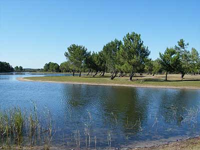 Озеро Уртен (Аквитания, Франция)