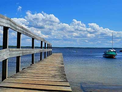Озеро Лакано (Аквитания, Франция)