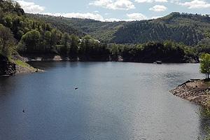 Озеро Барраж-де-Сарран (Юг-Пиренеи, Авейрон)