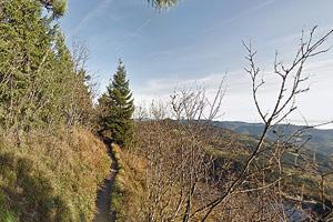 Пешеходная тропа у озера Блан (Эльзас)