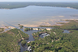 Озеро Лакано (Аквитания, Жиронда)