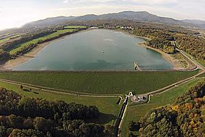 Озеро Мишельбах. Плотина (Эльзас)