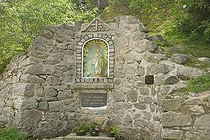 Мемориал в память о погибших во время строительства гидроэлектростанции на озере Нуар  (Эльзас)