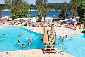 Озеро Парелуп: кемпинг Camping-Club Les Genêts