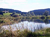 Равнинное озеро Реморе (Франш-Конте)