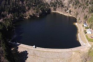 Озеро Шиссротрие   (Эльзас): плотина