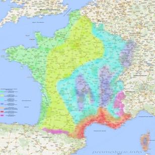 Климатические зоны Франции