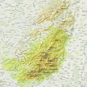 Карта Вогезов (Франция)