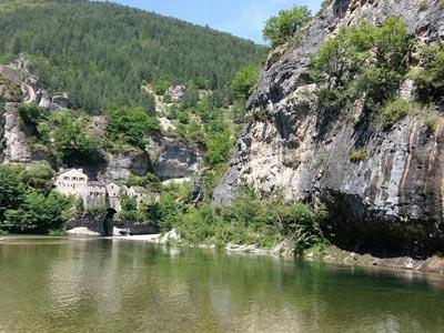 Горы Севенны. Долина реки Тарн