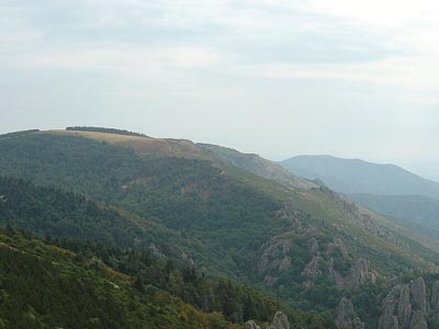 Гора Соме де Межан (Sommet de Méjan)