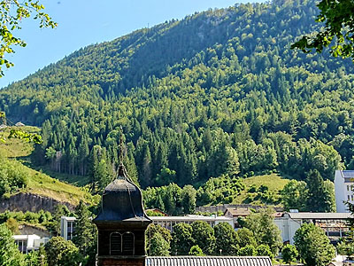 Гора Кре А ла Дам (Crêt à la Dame): 1303 м