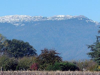 Гора Кре де ла Неж (Crêt de la Neige): 1720 м