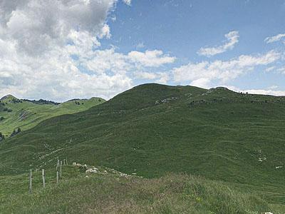 Гора Кре дю л'Егюйон (Crêt du l'Éguillon): 1546 м