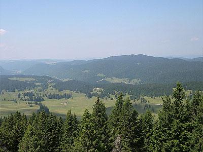 Гора Кре Пела (Crêt Pela): 1495 м