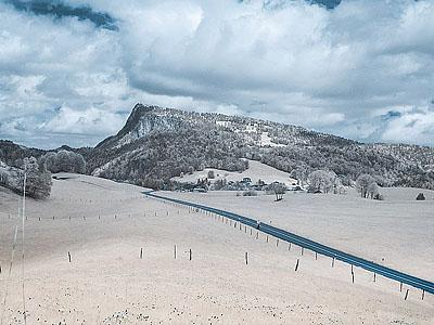 Гора Зуб Вольон (Dent de Vaulion): 1483 м