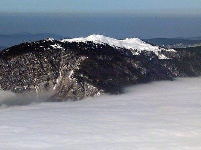 Гора Гран Кре д'О (Grand Crêt d'Eau): 1621 м