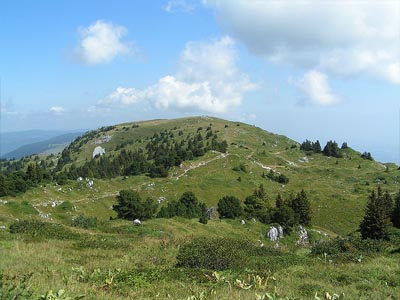 Гора Гран Кре (Grand Crêt): 1702 м