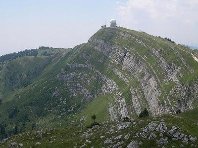 Гора Ла Доль (La Dôle): 1677 м
