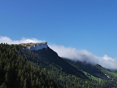 Гора Ле Шассрон (Le Chasseron): 1606,6 м