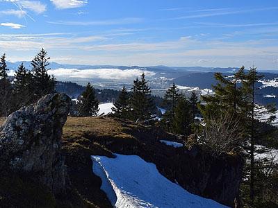 Гора Мон Расин (Mont Racine): 1439 м