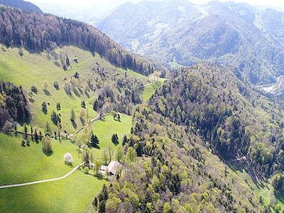 Гора Мон Ремё (Mont Raimeux): 1302 м