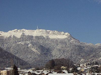 Гора Мон Рон (Mont Rond): 1596 м