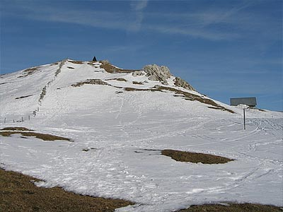 Гора Мон Тендр (Mont Tendre): 1679 м
