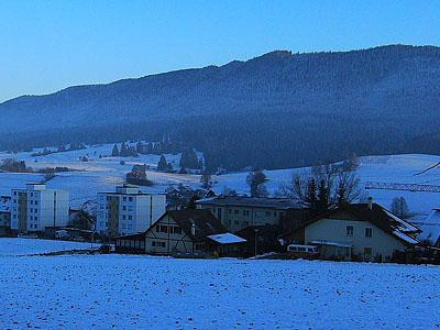 Гора Монто (Montagne de Montoz): 1328 м