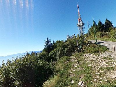 Гора Синьяль дю Мон дю Ша (Signal du Mont du Chat): 1504 м