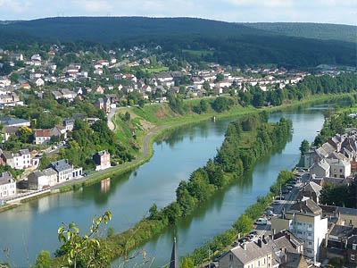 Арденны, Франция. Река Мёз