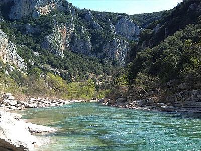 Центральный массив, Франция. Река Тарн