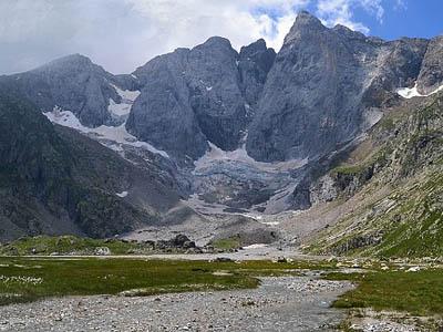 Центральные Пиренеи, Франция. Пик Виньемаль (Pic de Vignemale)