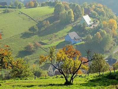 Южные Вогезы, Франция. Панорама