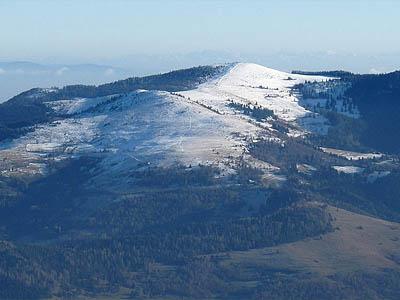 Южные Вогезы, Франция. Гора Пэти Балён