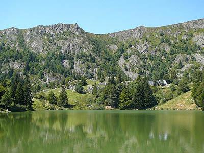 Южные Вогезы, Франция. Гора Газон дю Фэнь (1 306 м.)