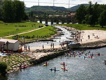 Водный стадион Мийо (le stade d'eau vive de Millau)