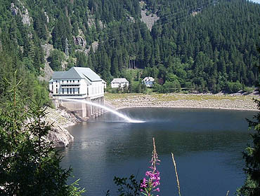 Система гидроэлектростанций на озере Нуар