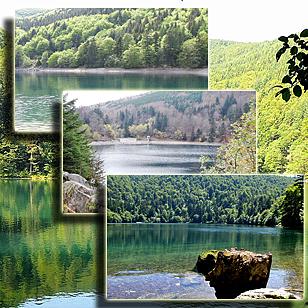 Фотографии  озера  Балон (Эльзас, Франция)