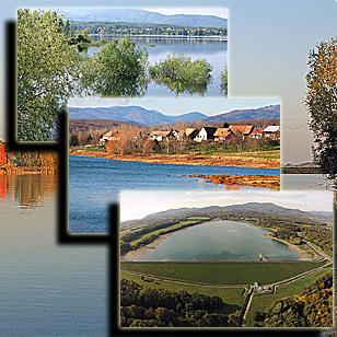 Фотографии  озера Мишельбах (Эльзас, Франция)