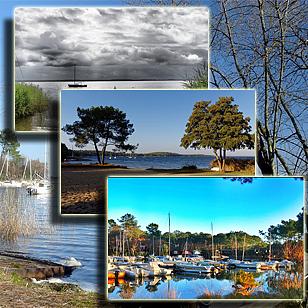 Фотографии озера Лакано (Аквитания, Франция)