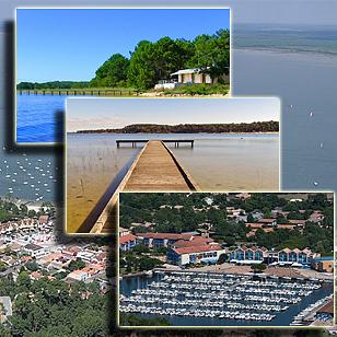 Фотографии озера Уртен (Аквитания, Франция)