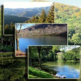 Фотографии  озера Лаштельвейе (Эльзас, Франция)