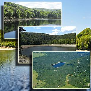 Фотографии  озера Лош  (Эльзас, Франция)