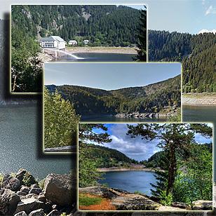 Фотографии  озера Нуар (Эльзас, Франция)