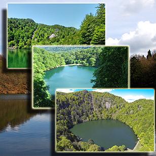 Фотографии  озера Перш у Стернсе  (Эльзас, Франция)