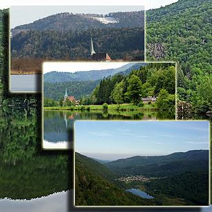 Фотографии  озера Севен (Эльзас, Франция)